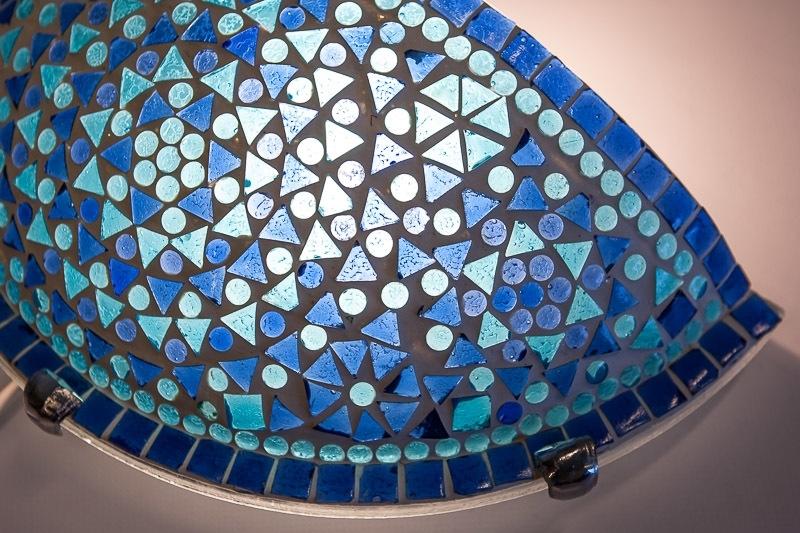 Blauwe|Mozaiek|Wandlamp|Oosterse|Lampen