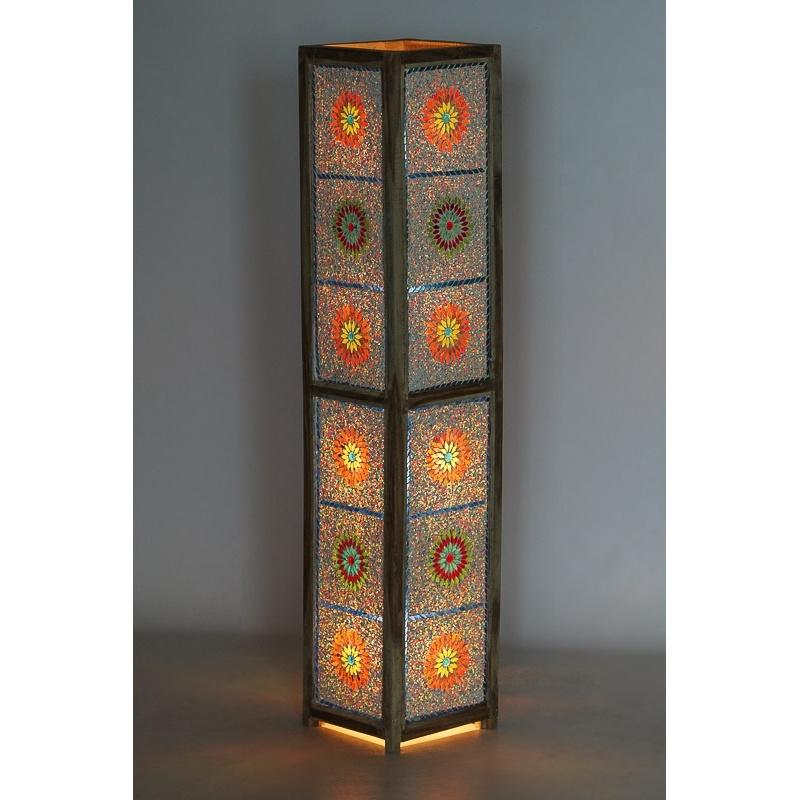 Oosterse|Vloer|Lampen|Mozaiek|Staande|Lamp