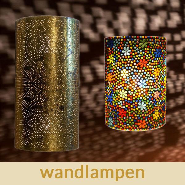 Oosterse|Wandlampen|Mozaïek|Filigrain|Marokkaans