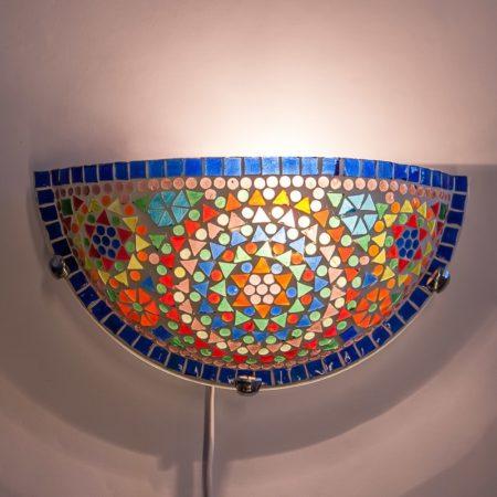 wandlamp|Mozaiek|Halve|Maan|Oosterse|Lampen