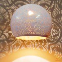 Oosterse|filigrain Hanglampen|Mozaiek