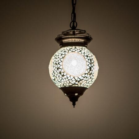 Mozaïek|Hanglamp|Transparant|Oosterse|Verlichting