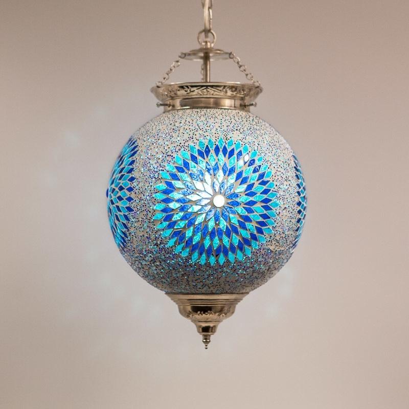 Oosterse|Mozaïek|Hanglamp|Luxe|Interieur