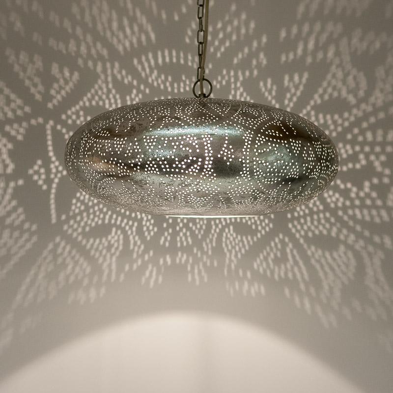 Vintagelamp|Zilveren|Lamp