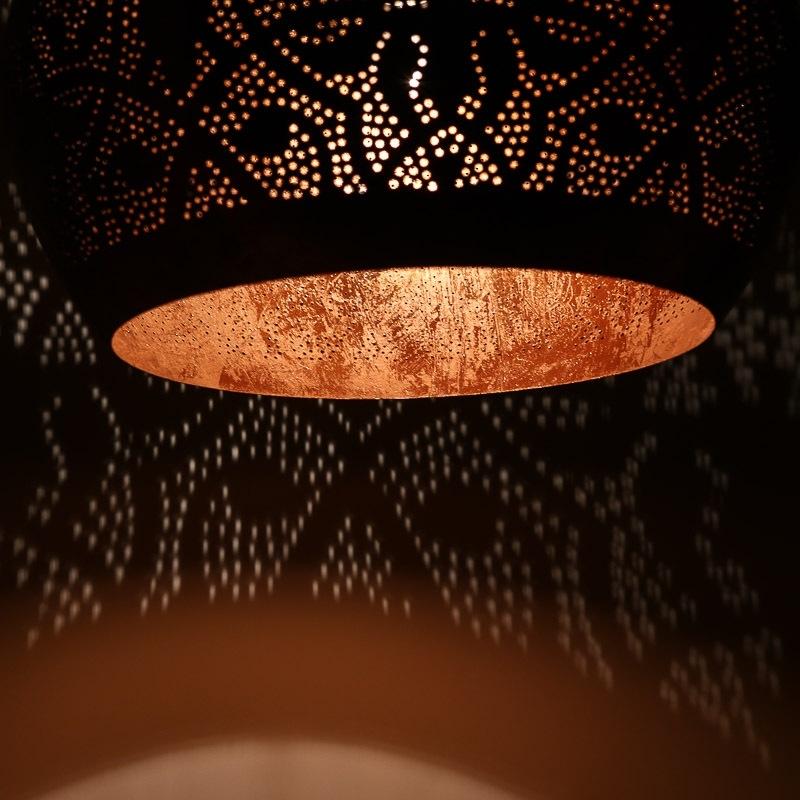 Vintagekoper|Grotelamp|Eettafel