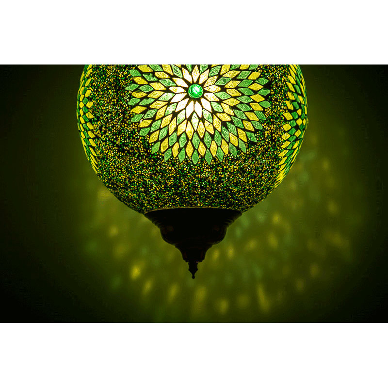 Oosterse Hanglampen Mozaiek