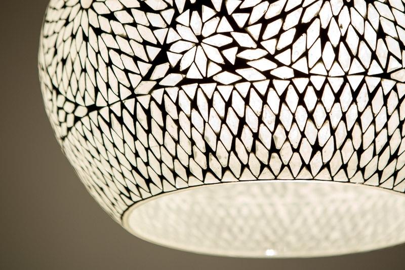 Oosterse Hanglamp|Mozaiek lamp | Oosterse verlichting