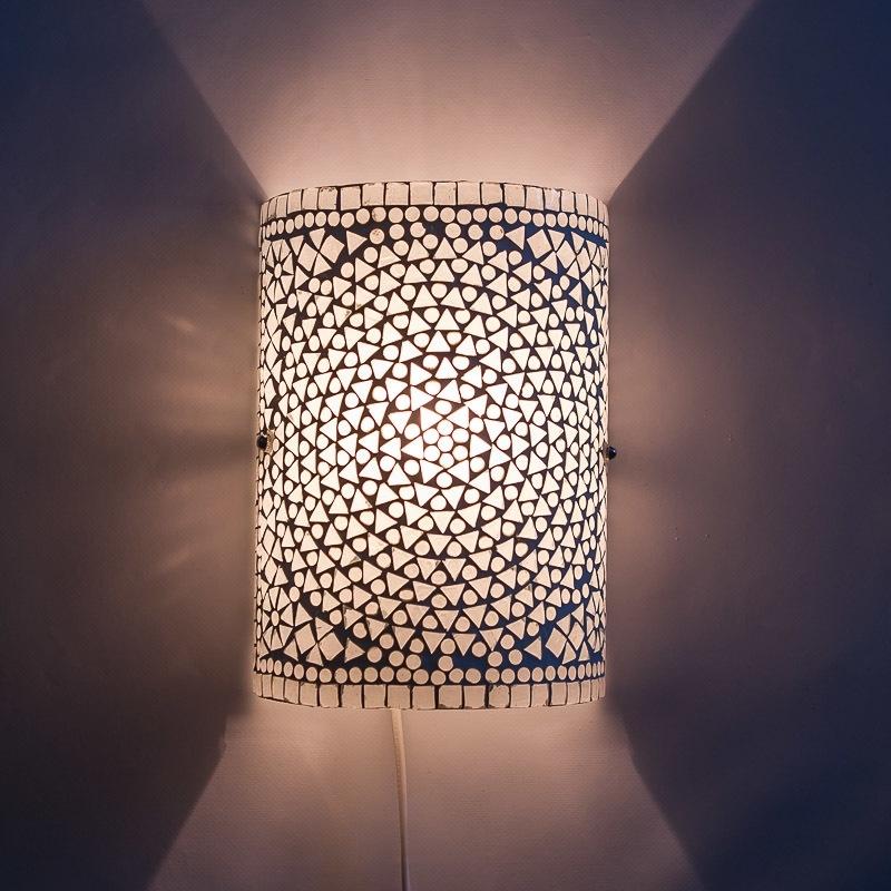 Witte|Wandlamp|Oosterse|Lampen