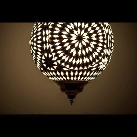 Oosterse hanglamp glasmozaïek oriëntaalse lamp ruime collectie Oosterse lampen online