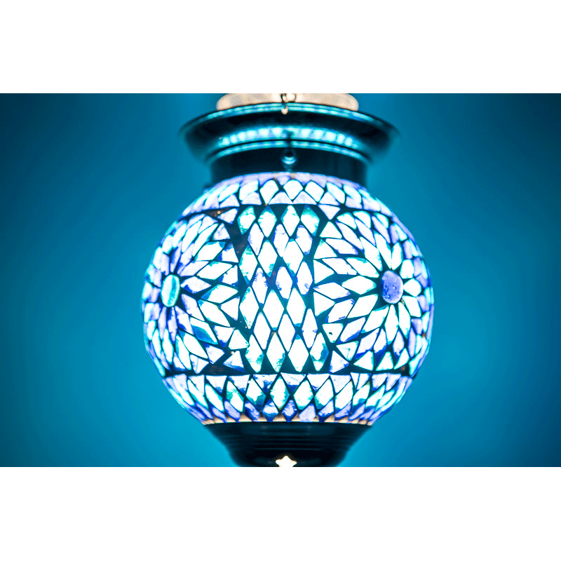 Wonderbaar Oosterse lampen | Marokkaanse hanglamp | Mozaiek | Sfeerverlichting CC-93