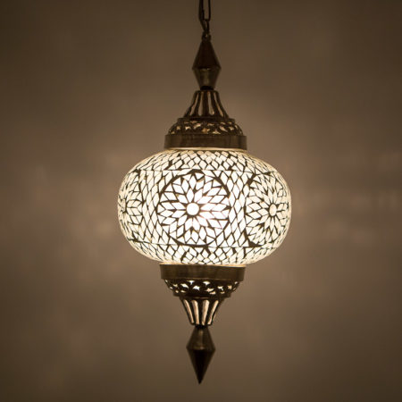 Mozaiek|Lichtelamp|Marrokaanse|