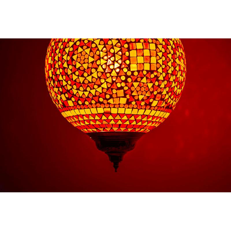Mozaieklamp|Marrokkaanse|Arabische|lamp|De|Een|