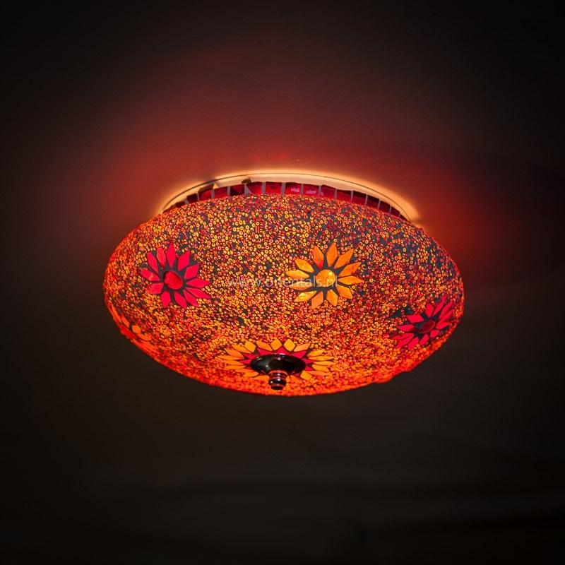 Mozaïek|Plafonnière|Sfeerlamp|Kralen|Oosterse|Lampen