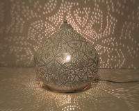 Oosterse tafellamp | Filigrain | Verlichting