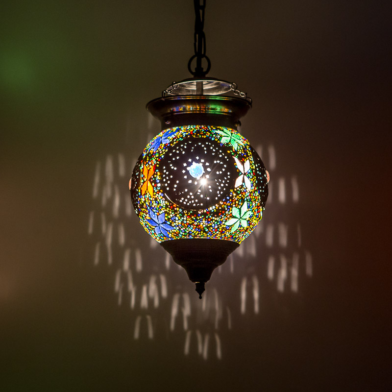 Oosterselamp|Bloemen|Mozaïek|Amsterdam