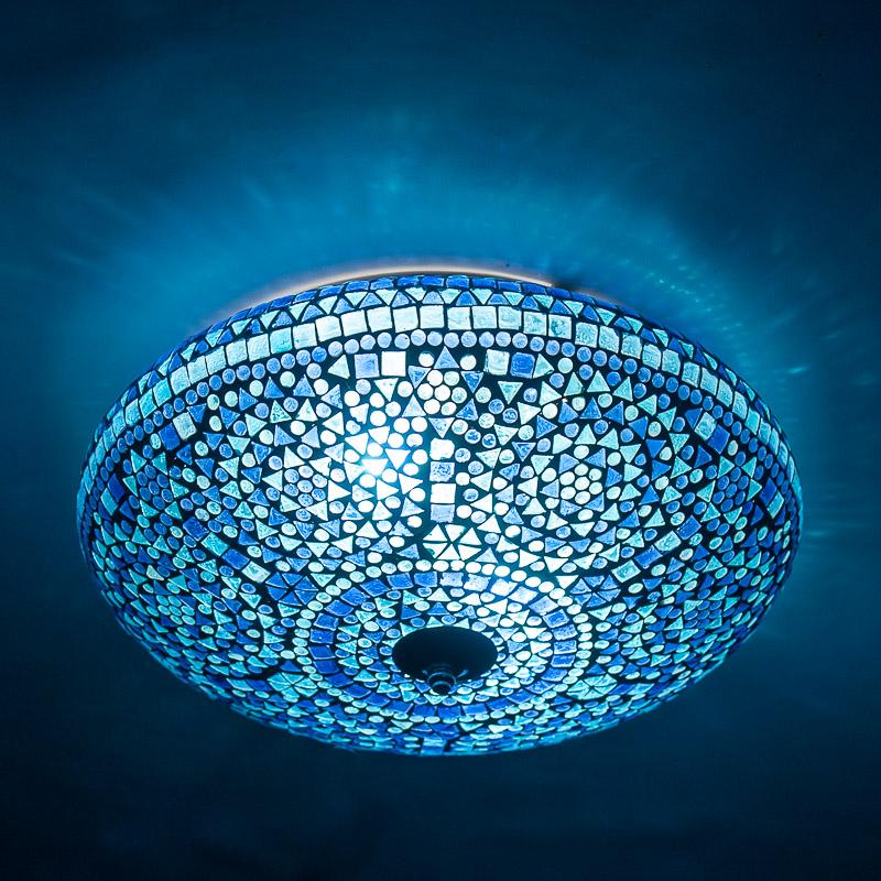 oosterse|mozaïek|lampen|blauw|filigrain|tafellampen