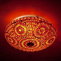 Oosterse|lampen|Sfeerverlichting|Mozaïek|Plafonnière
