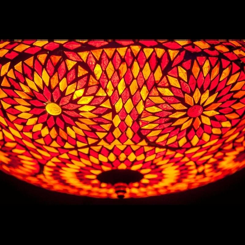 Mozaïek|Plafonnière|Turkish|Design|Oosterse|lampen