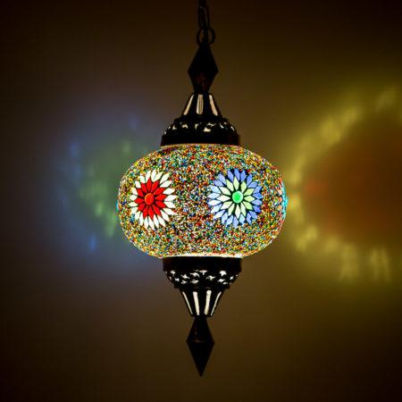 Oosterse|Mozaïek|hanglamp|Lantaarn
