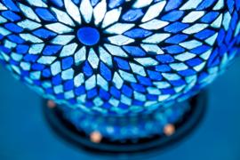 Mozaiek|Lamp|Blauw|Oosters