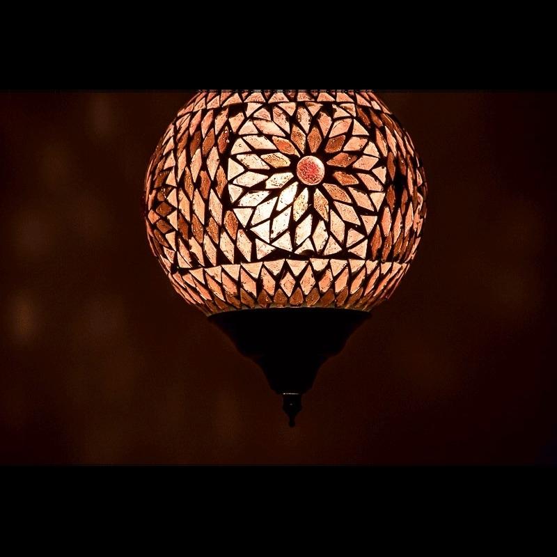 Mozaiek|Hanglampen|Oosterse|Sfeer|Verlichting
