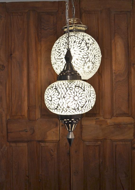 Oosterse lampen|Mozaiek hanglamp | Marokkaanse Lantaarn