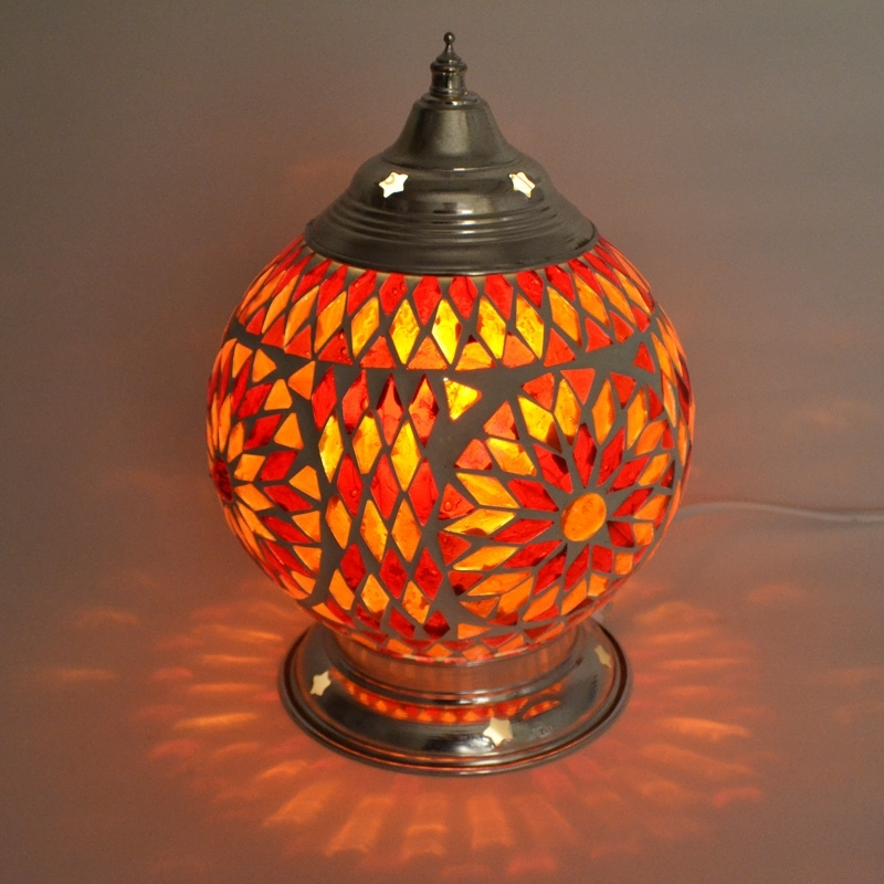 Turkish|Mozaïek|Tafellamp