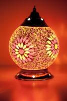 Oosterse|tafellamp|Mozaïek|Beads