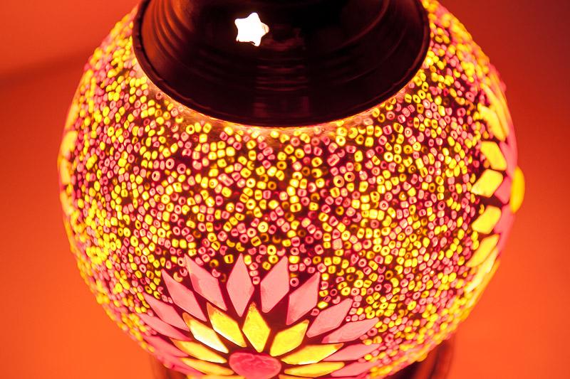 Mozaïek|Tafellamp|Beads|Turkish|Design