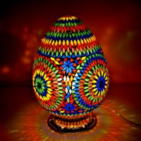 tafellamp|mozaiek|Oosterse|kleuren