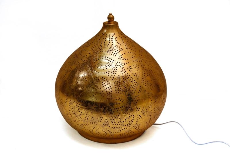Goud|Tafellamp|Oosters|Filigrain