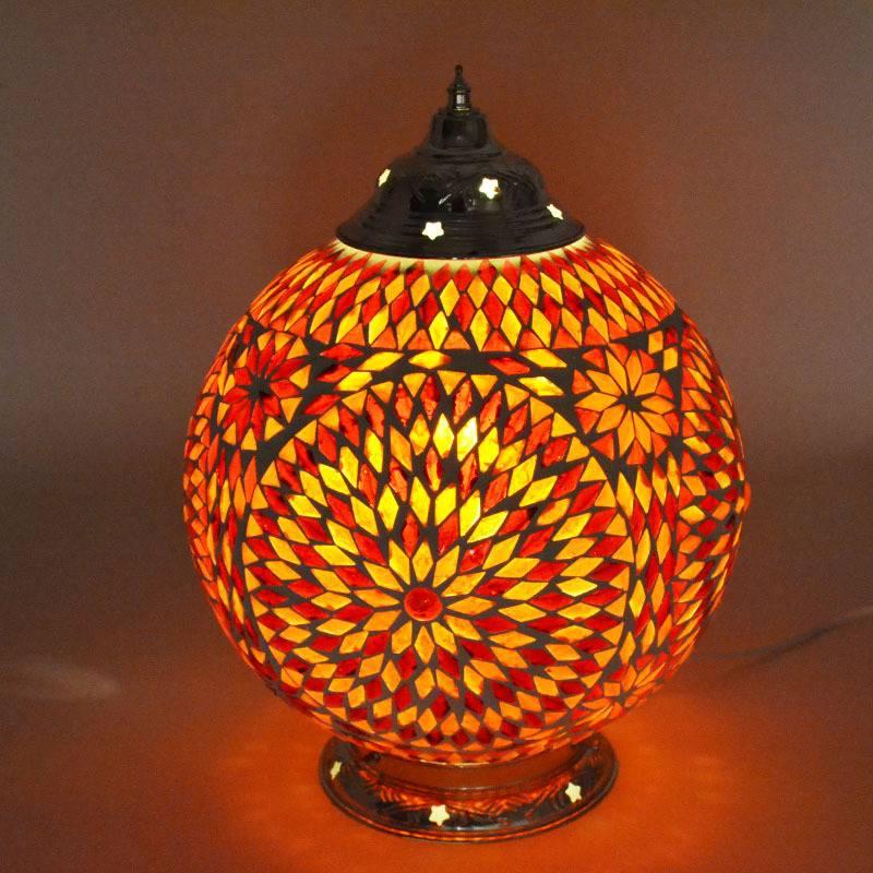 tafellamp|Oosters|Turkish|Mozaiek