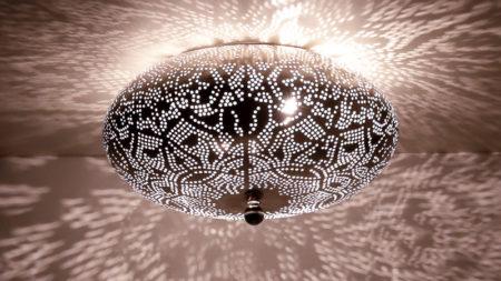 Filigrain plafonnière | Oosterse lampen | België