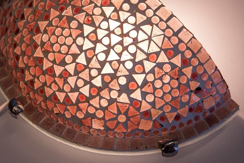 Paarse|Mozaiek|Wandlamp|Oosterse|Sfeer|Amsterdam