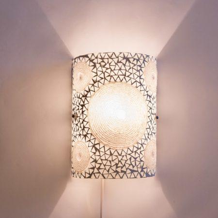 Mozaiek|Wandlamp|Luxe|Transparant