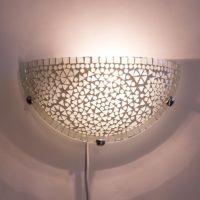 Oosterse|Wandlamp|Mozaïek|Witte|Marokkaanse|Stijl