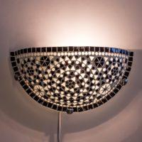 mozaiek|wandlampen|oosterse|stijl|zwart|wit|Amstelveen